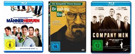 DVD- und Blu-ray-Angebote bei Müller und Amazon - z.B. Blu-rays ab 6,66 €