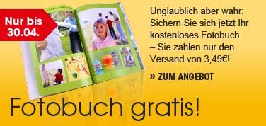 24-Seitiges Fotobuch für 3,49€ bei OTTO
