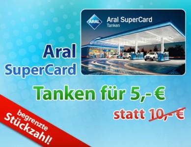 10 € Aral-Gutschein für 5 € bei DailyDeal