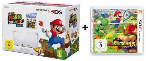 Nintendo 3DS-Bundle mit 2 Spielen für 195 € - 15% Ersparnis