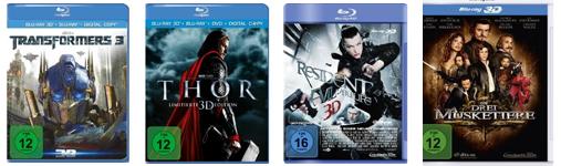 DVD- und Blu-ray-Angebote bei Amazon - z.B. Blu-rays für 7,97 €
