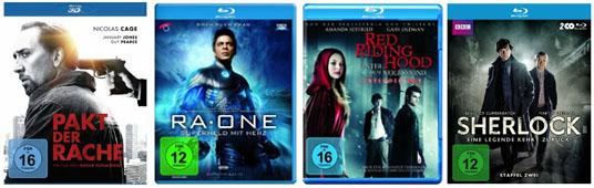 DVD- und Blu-ray-Angebote bei Media Markt & Konter von Amazon - Blu-rays ab 8,90 €