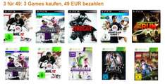 3 Spiele für 49 Euro bei Amazon - z.B. Halo Reach, NFS: The Run & Alice: Madness Returns *Update*