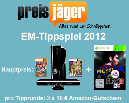 Preisjäger EM-Tippspiel 2012 - Runde 1: Deutschland gegen Portugal *Update*