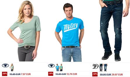 Bis zu 50% Rabatt im Sale von Tom Tailor + zusätzlich 20% sparen mit Gutscheincode