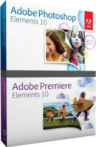 Adobe Photoshop Elements 10 + Adobe Premiere Elements 10 ab 50 €