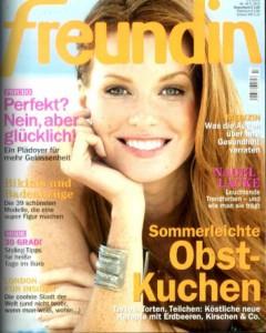 """Jahresabo der Zeitschrift """"Freundin"""" für effektiv 17,60 € - mit Verrechnungsscheck"""