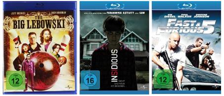 DVD- und Blu-ray-Angebote von Media Markt und Konter von Amazon - Filme ab 4,90 €