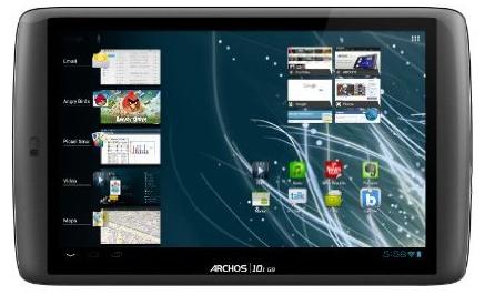 Archos 101 G9 - Android-Tablet mit 250 GB Speicher für 269 €