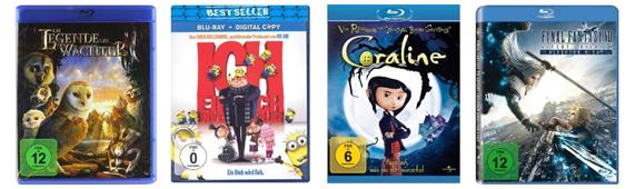 DVD- und Blu-ray-Angebote bei Amazon - z.B. Kultfilme auf Blu-ray bis zu 40% reduziert