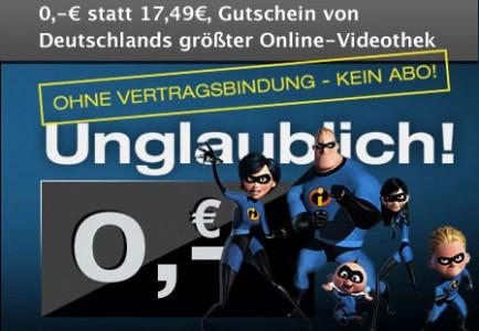 Kracher! 1 Monat Maxdome-Premiumpaket im Wert von 17,49 € kostenlos & selbstkündigend