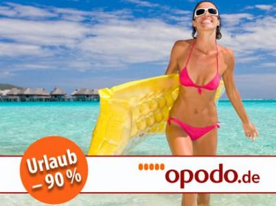 100 € Gutschein für Opodo.de für 9,90 € bei DailyDeal