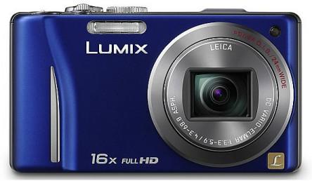 Kompaktkamera Panasonic Lumix DMC-TZ22 für 154 € - 22% Ersparnis