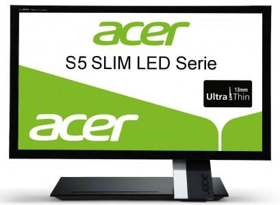 Acer S235HLAbii - schlanker 23-Zoll-Monitor mit Full-HD und HDMI für 139 € *Update*