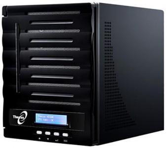 Thecus N5550 - Netzwerkspeicher mit fünf Einschüben für 359 € - 22% Ersparnis