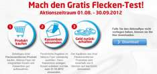 Ariel-Fleckentferner durch 100% Cashback komplett kostenlos erhalten *Update*