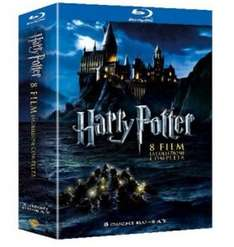 Harry Potter Komplettbox auf Blu-ray für 20,60€ @Amazon Italien