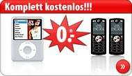 [Aktion] Gratis Apple iPod Nano, Sony PS2 oder Sony Ericsson K800i