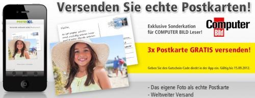 PosterXXL: 4 Foto-Postkarten selbst erstellen und komplett kostenlos verschicken *Update*