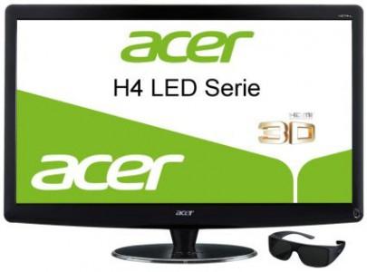 Acer HR274Hbmii - 27 Zoll großer 3D-Monitor mit 3D-Brille für 249 € *Update* jetzt für 233 €