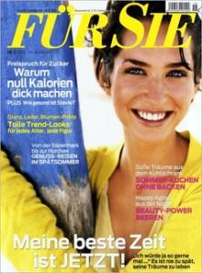 """Frauenzeitschrift """"Für Sie"""" ein Jahr lang effektiv kostenlos lesen – mit BestChoice-Gutschein"""