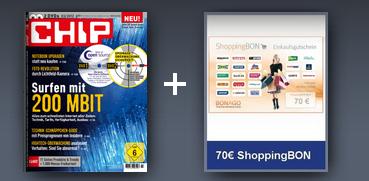 Chip 100 mit 2 DVDs im Prämienabo für effektiv 3,80 € im Jahr statt 73,80 €