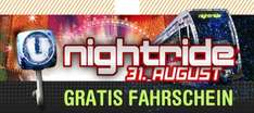 Nightride Event 2012 in Wien am 31. August