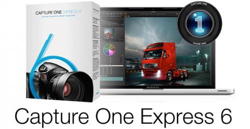 Bildbearbeitungssoftware Capture One Extress 6 gratis statt 69 €
