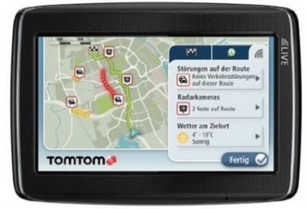 Navigationssystem TomTom Go Live 820 für 140 €