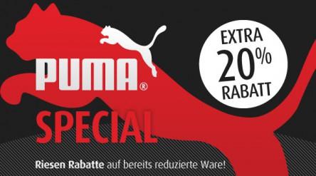 Puma-Sale bei MandMDirect und zusätzlich 20% sparen mit Gutschein