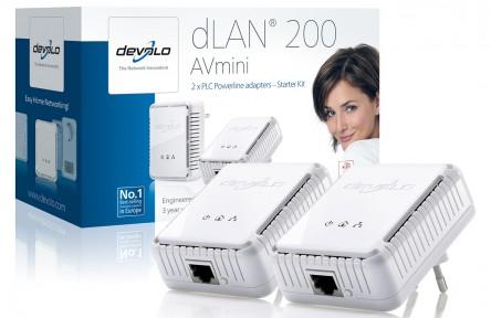 Devolo dLAN 200 AVmini Starter Kit ab 40 € statt 74 € bei DiTech