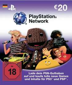 40 Euro Playstation Network Card für 32 Euro