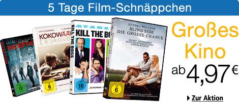 5 Tage Filmschnäppchen bei Amazon: Blu-rays ab 7,97 €  *Update* Serien Superboxen
