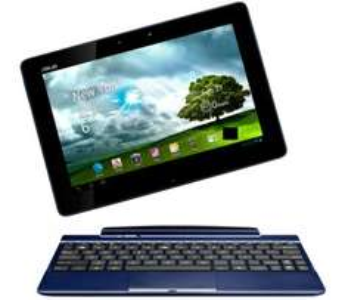 Android-Tablet Asus Eee Pad Transformer mit Docking-Tastatur für 529 € - 16% Ersparnis