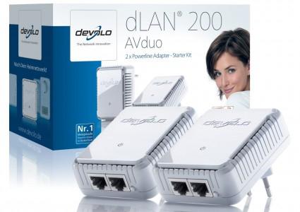 Devolo dLAN 200 AVduo Starter Kit für 44 € - 20% Ersparnis *Update* jetzt für 39 €!