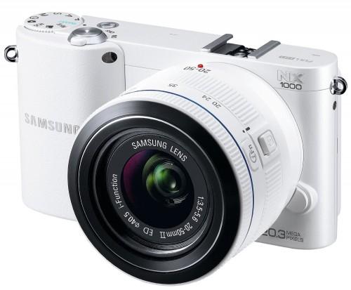 Top: 200 Euro von Samsung zurück beim Kauf einer NX1000 Systemkamera - Nur 299 € statt 499 €!