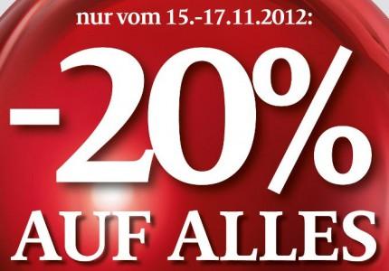 C&A Österreich - 20% Rabatt auf das gesamte Sortiment - ab morgen in den Filialen