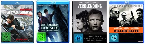 4-für-3-Aktion für Blu-rays bei Müller und Konter von Amazon