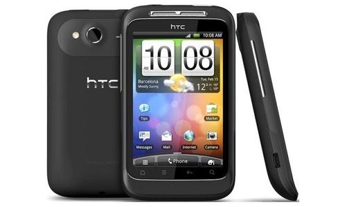 Android-Smartphone HTC Wildfire S für 99,99 € statt 122,50 €