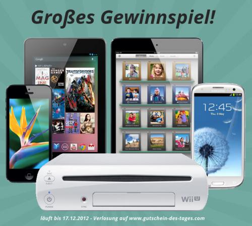 """Ab heute erhältlich! Unsere """"Gutschein des Tages"""" App inkl. großem Gewinnspiel!"""