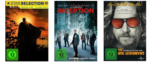 Filmangebote bei Amazon: 2 Blu-rays für 18 €, 4 DVDs für 20 € und Boxsets zum Sonderpreis