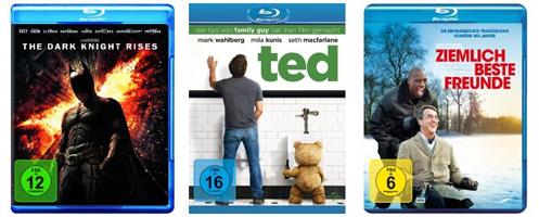 Gute Filmangebote bei Amazon und Müller - z.B. Der König der Löwen 3D für 20 € & Ziemlich beste Freunde für 16 €