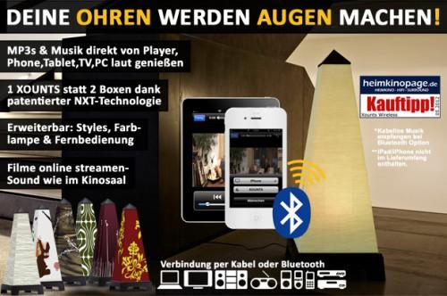 Exklusivangebot: Xounts Basic für 129 € statt 299 € und Xounts Bluetooth für 199 € statt 388 €