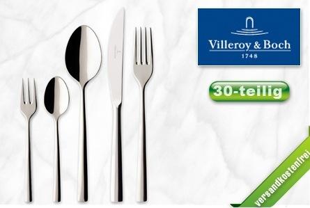 Villeroy & Boch Tafelbesteck Piemont (30-teilig) für 70 € statt 99 € *Update* Jetzt wieder bei Ebay verfügbar.