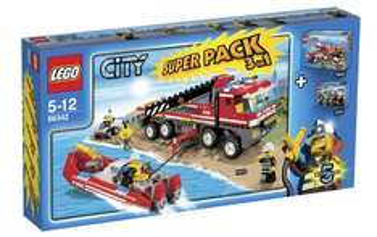 Lego City 66342 Feuerwehr Superpack 3-in-1 für 39,99 € - 16% Ersparnis