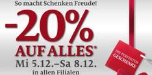 C&A Österreich: 20% Rabatt auf das gesamte Sortiment in den Filialen