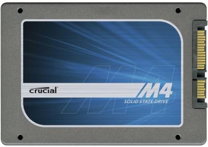SSD-Speicher Crucial M4 mit 256 GB Speicher 129 € - 23% Ersparnis