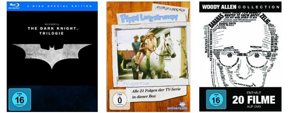 Amazon Media Winterdeals vom 17. Dezember - z.B. FIFA 13 mit 23% Ersparnis, Dark Knight Trilogie oder Halo 4