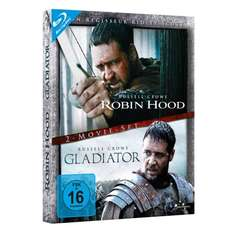 Robin Hood + Gladiator (Blu-ray Director's Cut, Extended Edition) für 9,97 € bei Amazon