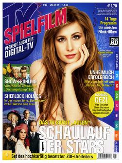 """Fernsehzeitschriften """"TV Movie"""", """"TV Spielfilm"""" & """" TV Spielfilm XXL"""" durch 45 € Gutschein günstig lesen"""